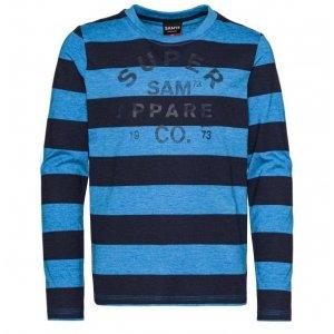 Chlapecké triko SAM 73 BEN BT 546 MODRÁ