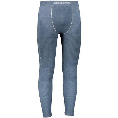 Pánské termo kalhoty SALOMON PRIMO WARM TIGHT SEAMLESS  LC1406900 DARK DENIM