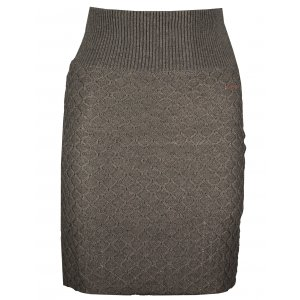 Dámská sukně KIXMI KERSTIN HNĚDÁ