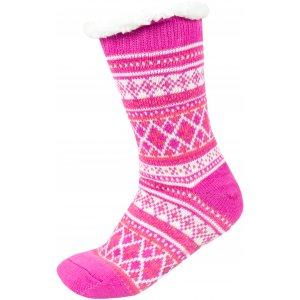 Ponožky ALPINE PRO SINNIR 3 USCS056 RŮŽOVÁ