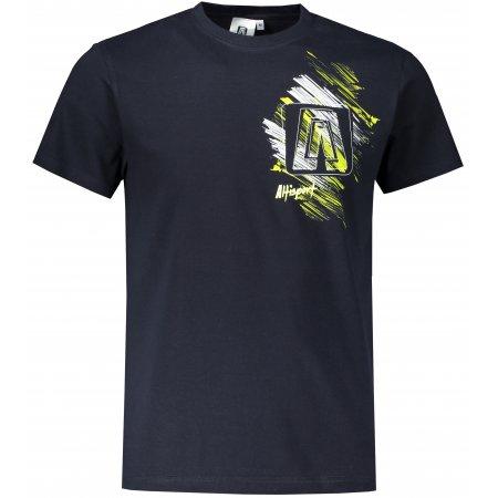 Pánské triko ALTISPORT ALM032129 NÁMOŘNÍ MODRÁ