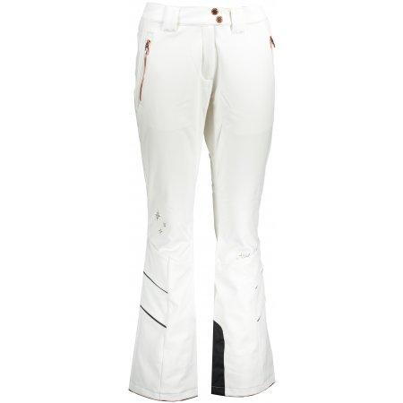 Dámské zimní softshellové kalhoty ALPINE PRO KARIA 4 LPAS451 BÍLÁ