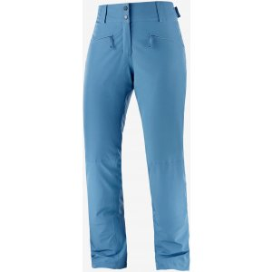 Dámské zimní kalhoty SALOMON EDGE PANT W  LC1387500 COPEN BLUE