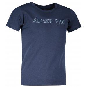 Dětské triko ALPINE PRO BLASO KTSS293 TMAVĚ MODRÁ