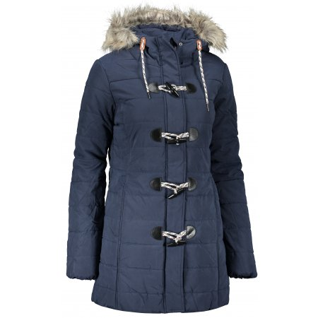 Dámský zimní kabát SAM 73 AMANDA WB 807 TMAVĚ MODRÁ