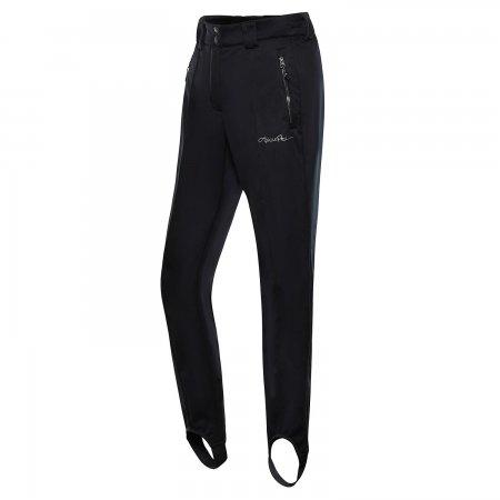 Dámské zimní softshellové kalhoty ALPINE PRO ELIANA LPAS452 ČERNÁ