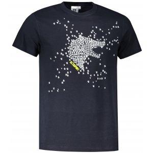 Pánské triko ALTISPORT ALM022129 NÁMOŘNÍ MODRÁ