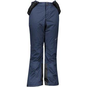 Dětské lyžařské kalhoty ALPINE PRO ANIKO 4 KPAS203 TMAVĚ MODRÁ