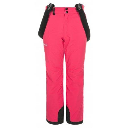 Dívčí lyžařské kalhoty KILPI EUROPA-JG NJ0030KI RŮŽOVÁ
