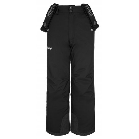 Chlapecké lyžařské kalhoty KILPI METHONE-JB NJ0015KI ČERNÁ
