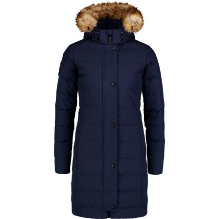 Dámský zimní kabát NORDBLANC NBWJL6929 TEMNÁ MODRÁ