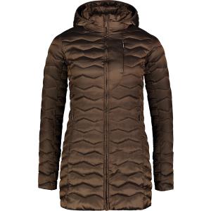 Dámský zimní kabát NORDBLANC NBWJL6937 PODZIMNÍ HNĚDÁ