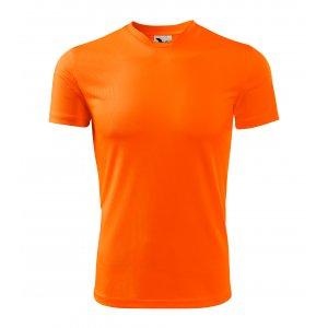 Dětské funkční triko MALFINI FANTASY 147 NEON ORANGE