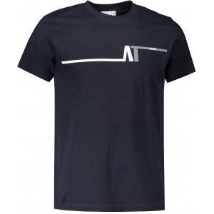 Pánské triko ALTISPORT ALM037129 NÁMOŘNÍ MODRÁ