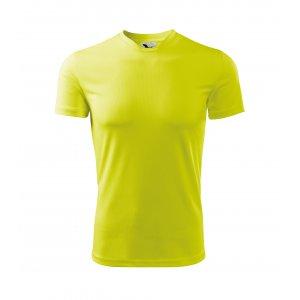 Dětské funkční triko MALFINI FANTASY 147 NEON YELLOW
