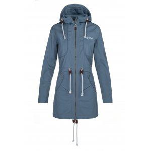 Dámský kabát KILPI PAU-W NL0081KI MODRÁ