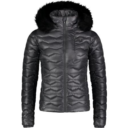 Dámská zimní bunda NORDBLANC COLLATE NBWJL6935 SVĚTLE ŠEDÁ