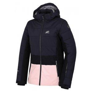 Dámská lyžařská bunda HANNAH MARILYN BLUE NIGHTS/SEASHELL PINK