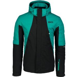 Pánská lyžařská bunda NORDBLANC NBWJM6905 ZELENÝ SMARAGD