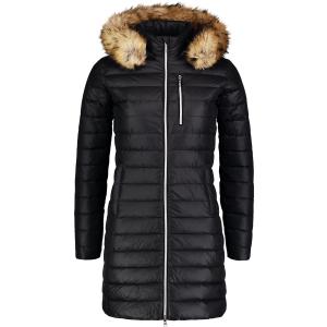 Dámský péřový kabát NORDBLANC CRAVE NBWJL6940 CRYSTAL ČERNÁ