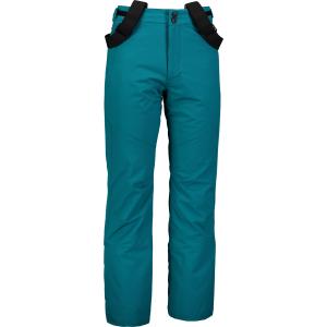 Pánské lyžařské kalhoty NORDBLANC ARID NBWP6955 ZELENÝ SMARAGD