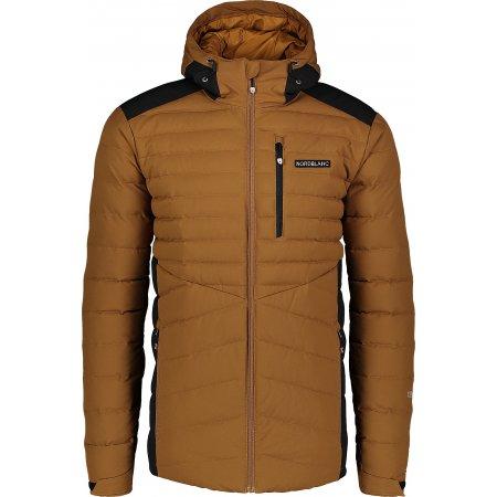 Pánská zimní bunda NORDBLANC NBWJM6910 PUŠTÍKOVA HNĚDÁ