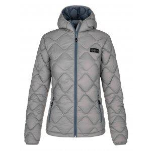 Dámská zimní bunda KILPI REBEKI-W NL0071KI SVĚTLE MODRÁ