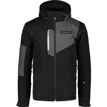 Pánská lyžařská bunda NORDBLANC MANFUL NBWJM7300 ČERNÁ