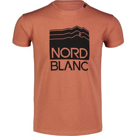 Pánské triko NORDBLANC ZONE NBFMT7044 ORANŽOVÁ
