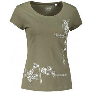Dámské triko ALTISPORT ALW035F61 KHAKI