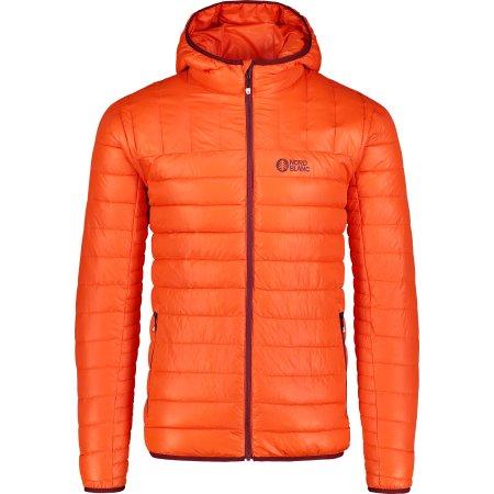Pánská zimní bunda NORDBLANC NBWJM6914 ORANŽOVÝ INKOUST