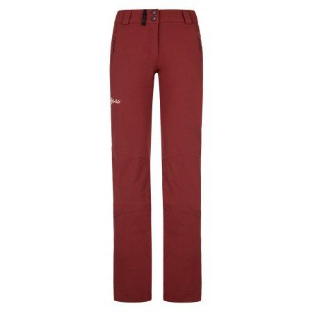 Dámské kalhoty KILPI LAGO-W NL0012KI TMAVĚ ČERVENÁ