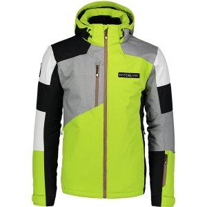 Pánská lyžařská bunda NORDBLANC COPPER NBWJM6900 JASNĚ ZELENÁ