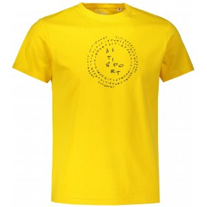 Pánské triko ALTISPORT ALM036F29 ŽLUTÁ