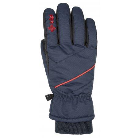 Lyžařské rukavice KILPI TATA-U NU0020KI TMAVĚ MODRÁ