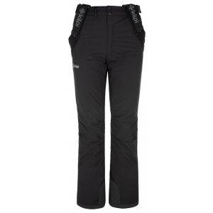 Dívčí lyžařské kalhoty KILPI EUROPA-JG NJ0030KI ČERNÁ
