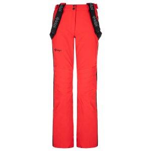 Dámské lyžařské kalhoty KILPI HANZO-W NL0082KI ČERVENÁ