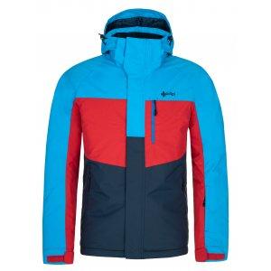 Pánská lyžařská bunda KILPI OBER-M NM0037KI TMAVĚ MODRÁ