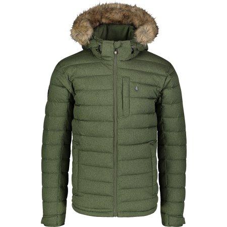 Pánská zimní bunda NORDBLANC STATIC NBWJM7307 ZELENÝ SAD