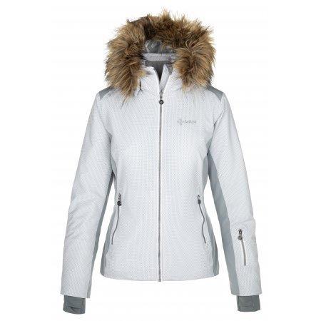 Dámská lyžařská bunda KILPI MALENAY-W NL0027KI SVĚTLE MODRÁ