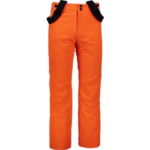 Pánské lyžařské kalhoty NORDBLANC ARID NBWP6955 ORANŽOVÝ DÝM