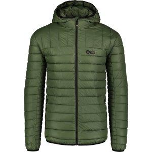 Pánská zimní bunda NORDBLANC NBWJM6914 ZELENÝ SAD