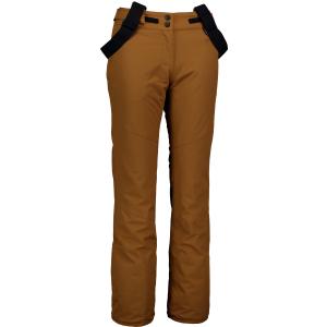 Dámské lyžařské kalhoty NORDBLANC GROWN NBWP6958 PUŠTÍKOVA HNĚDÁ