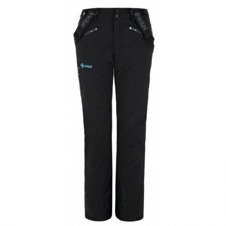 Dámské lyžařské kalhoty KILPI TEAM PANTS-W NL0077KI ČERNÁ