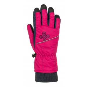 Dětské lyžařské rukavice KILPI KENNY-J NJ0050KI RŮŽOVÁ