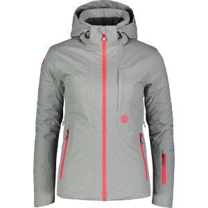Dámská lyžařská bunda NORDBLANC HARSH NBWJL7311 ŠEDÝ MELÍR