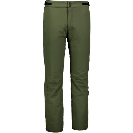 Pánské lyžařské kalhoty NORDBLANC PARCH NBWP6956 ZELENÝ SAD
