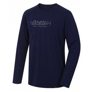 Pánské triko s dlouhým rukávem HANNAH BANTAM BLACK IRIS