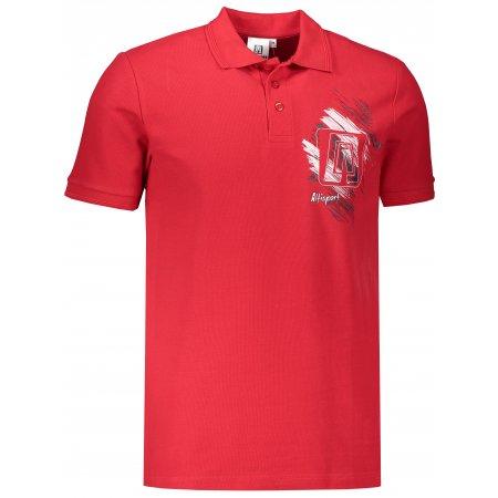 Pánské triko ALTISPORT ALM032203 ČERVENÁ