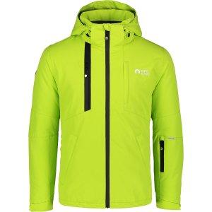 Pánská lyžařská bunda NORDBLANC TIDE NBWJM6902 JASNĚ ZELENÁ